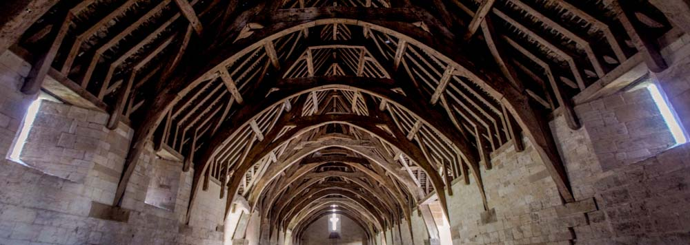Interior of the Tithe Barn
