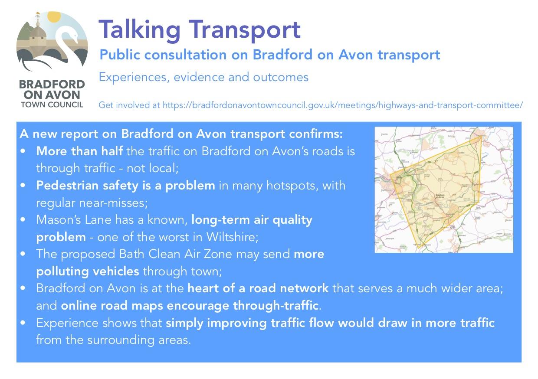 Talking Transport — public consultation on Bradford on Avon transport